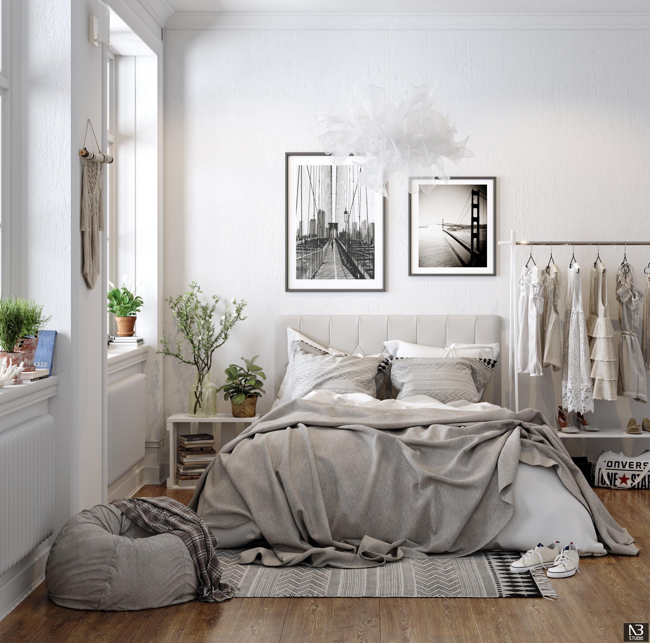 Bedroom Scandinavian Interior Design
